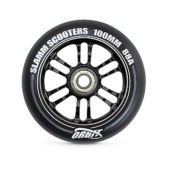 Slamm Black Orbit - 100mm Single Scooter Wheel