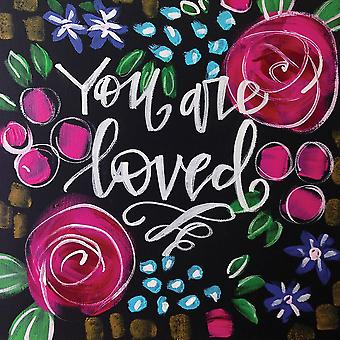 You Are Loved Poster Print by Valerie Wieners