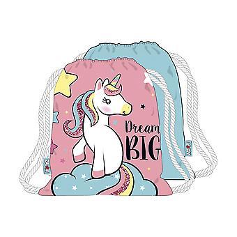 Licorne Dream Big sac Skoväska 44x38cm