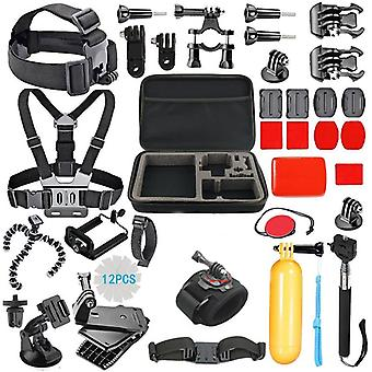 GoPro Kit 2 with 43 Pieces + bag