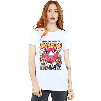 Vincent Trinidad Women's Revenge Of The Killer Donuts Boyfriend Fit T-Shirt