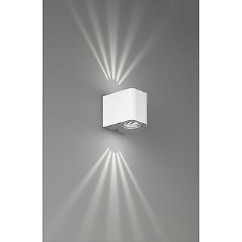 Trio Lighting Bogota Modern White Aluminium Wall Lamp