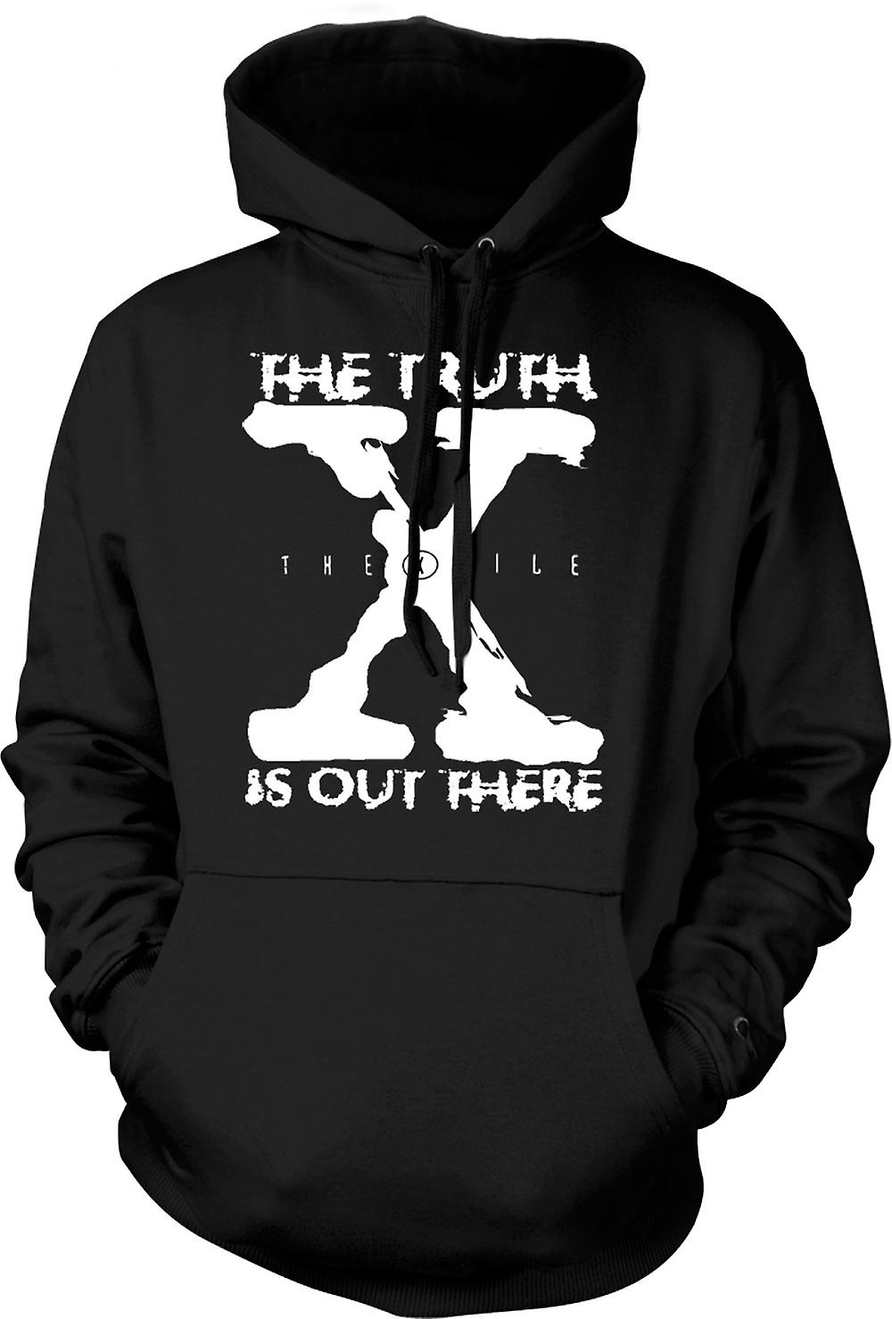 Kids Hoodie - X File Truth Is Out There - UFO