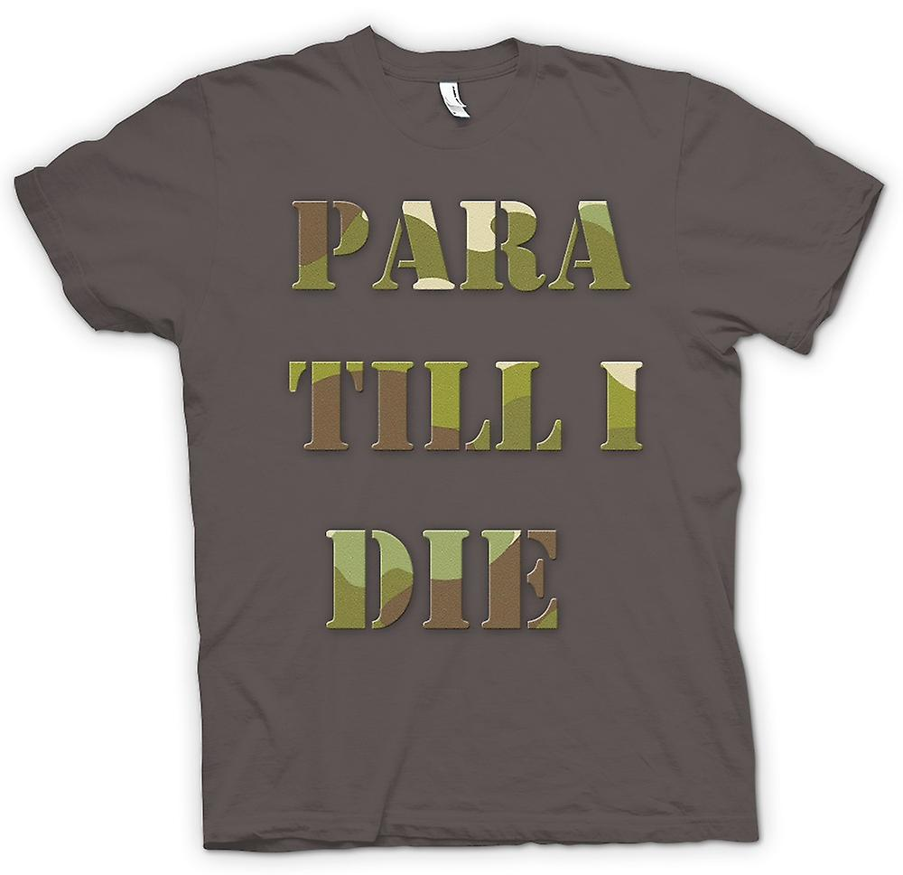 Womens T-shirt - Para Till I Die - Elite