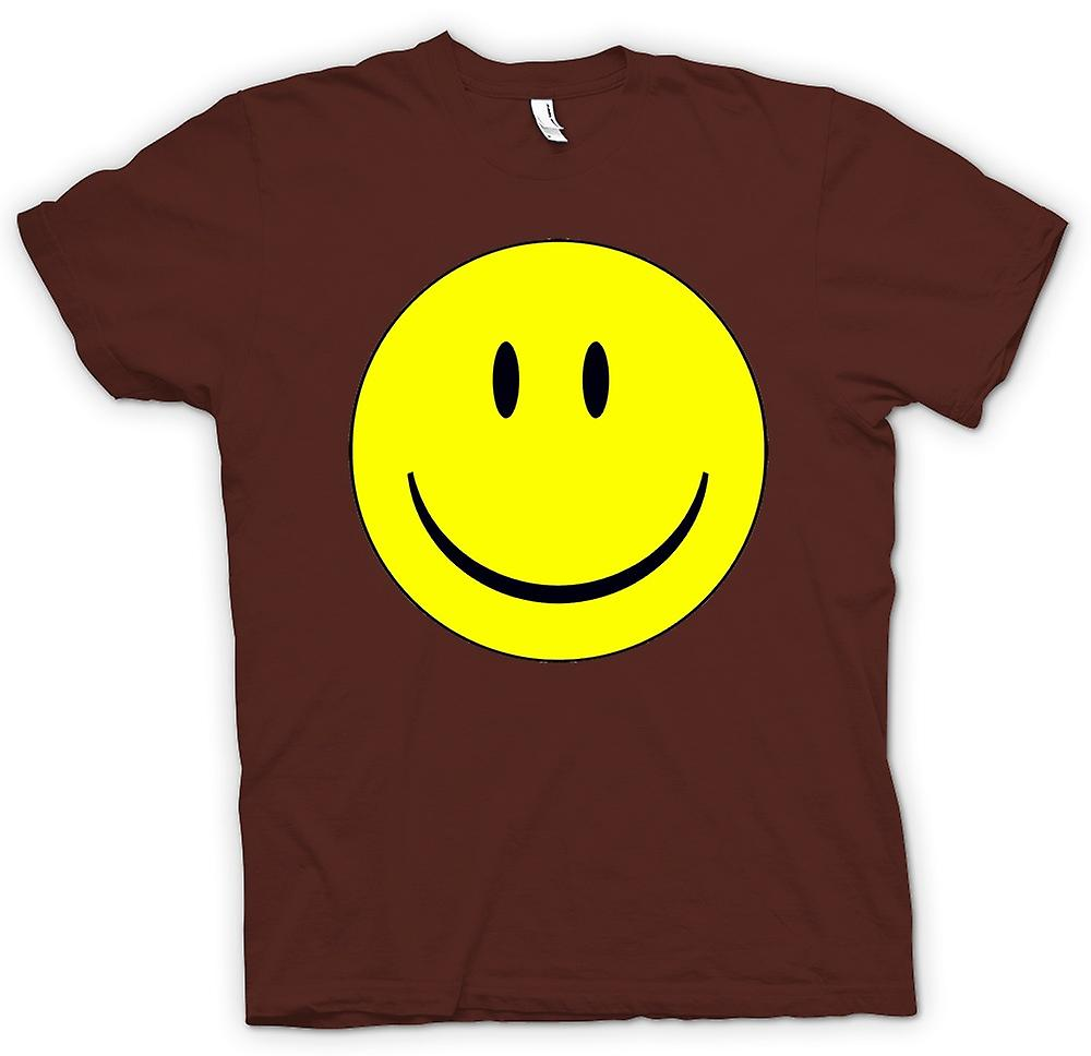 Mens t-shirt - miley faccia - Acid House