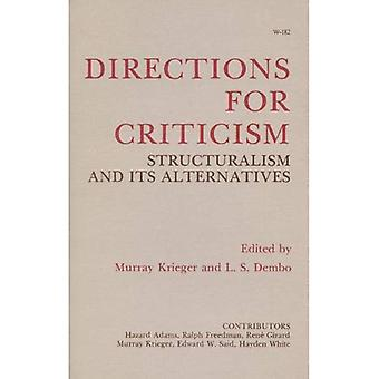 Directions for criticism