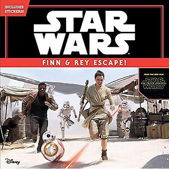 Star Wars the Force Awakens: Finn & Rey Escape! (Includes Stickers!): Includes Stickers!