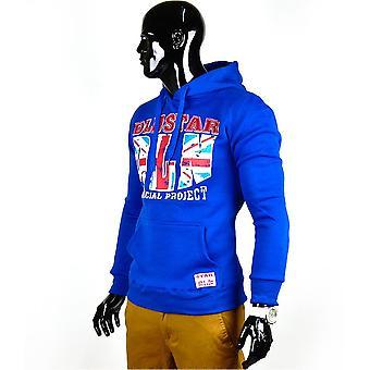 NEW Mens Sweatshirt Union Jack Hoodie English Flag Hoodie Sweatshirt England
