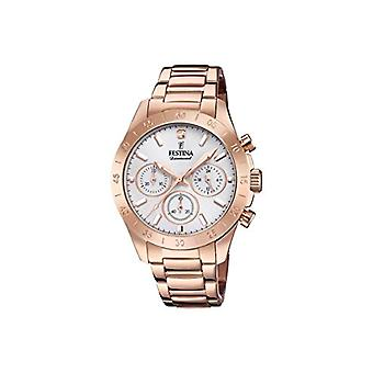 Festina Chronograph quartz ladies Watch with stainless steel band F20399/1