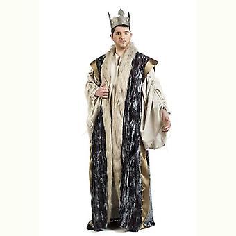 King cloak Cape cloak Mr costume coat King men's costume blue