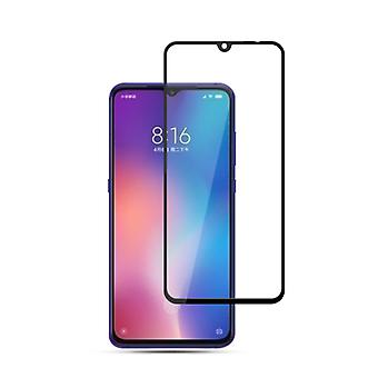 For Xiaomi MI 9 9 d premium 0.3 mm H9 hard glass black slide protection cover new