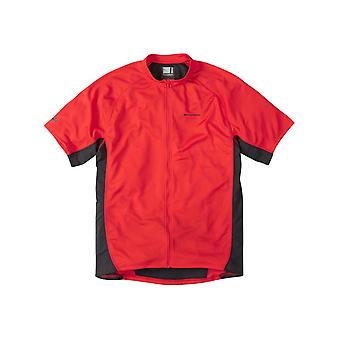 Madison Flame Red 2015 Trail Short Sleeved MTB Jersey