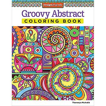 Design Originals-Groovy Abstract Coloring Book