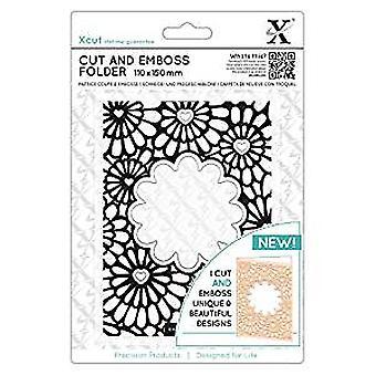Xcut Cut & Emboss Folder - Hearts & Flowers (XCU 503820)