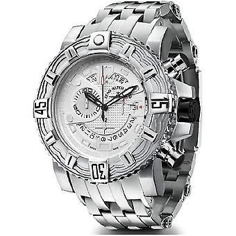 Zeno-watch mens watch Neptune 2 chronograph grey 4538 5030Q i3M
