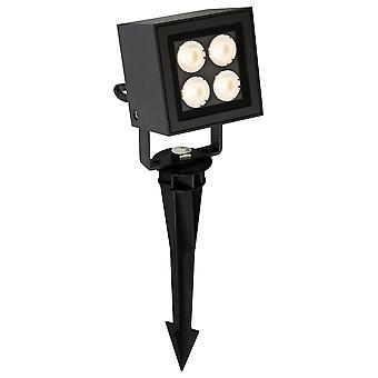 Firstlight - LED 4 Light Outdoor Wall Light & Spike Spot Graphite IP54 - 2336GP