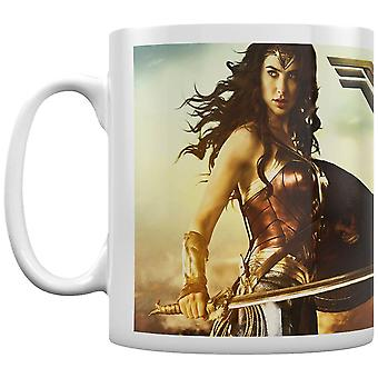 Wonder Woman Movie Action Coffee Mug