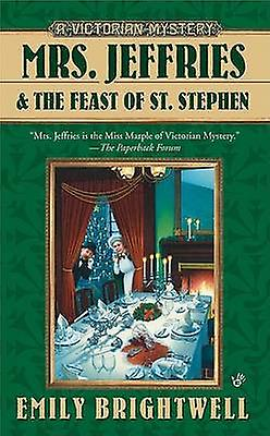 Mrs. Jeffries and the Feast of St. Stephen by Emily Brightwell - 9780