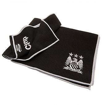 Manchester City FC Official Aqualock Caddy Towel