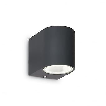 Ideal Lux Astro Wall Light Anthracite