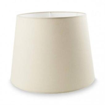 Dress Up Large Tapered Round Beige Shade