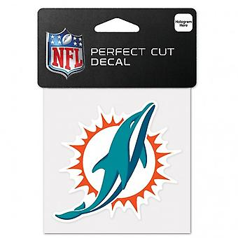 Wincraft decal 10x10cm - major league baseball Miami Dolphins