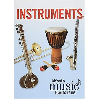 Alfred's Music Playing Cards -- Instruments: 1 Pack, Card Deck (Alfred's Music Playing Cards)