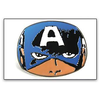 Ceinture Boucle - Marvel - New Captain America Face Metal Comic bb147023mvl