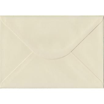 Ivory Laid Gummed C5/A5 Coloured Ivory Envelopes. 100gsm FSC Sustainable Paper. 162mm x 229mm. Banker Style Envelope.