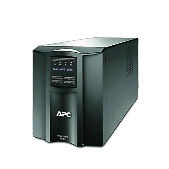 Apc smart-ups smt1500ic 1,500 va 1,000 w 8 sockets black