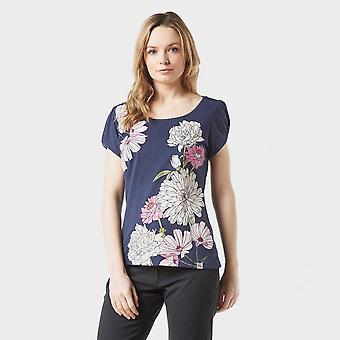 New Peter Storm Women's Bloom Short Sleeve T-Shirt Navy