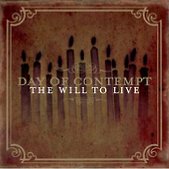 Day of Contempt - Will to Live [CD] USA import