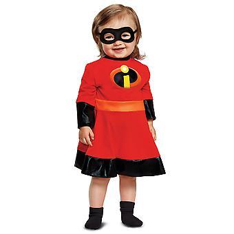 Violet Disney Pixar as incríveis 2 super-herói da criança meninas fantasia 12-18M