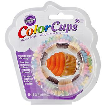 Clearcup Standard Baking Cups Cupcakes 36 Pkg W2150