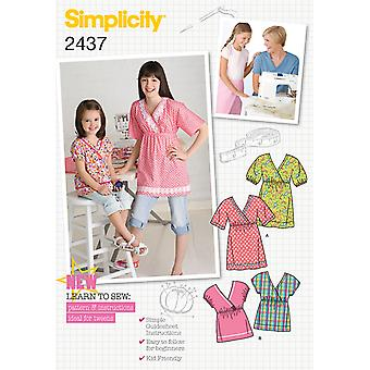 Simplicity Child Girl Sportswear 3 4 5 6 U02437hh