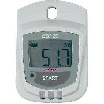 Multi-channel data logger ebro EBI 20-TH1 Unit of measurement Humidity, Temperature -30 up to 60 °C 0 up to 100 % RH