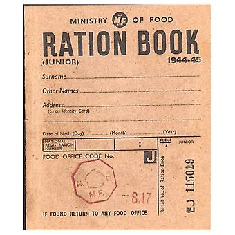 WW2 Replica Ration Book - Teaching Aid or Prop