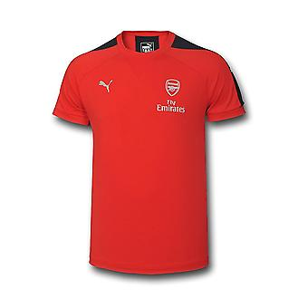 2016-2017 Arsenal Puma Casual Performance Tee (Red) - Kids