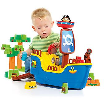Molto Blocks Pirate Ship + 30 (Toys , Preschool , Constructions)