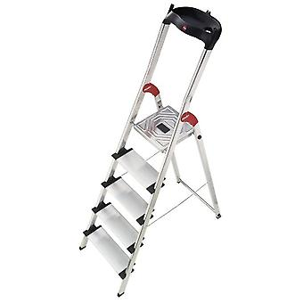 Hailo Ladder aluminum Xxl Easyclix (7 steps) (DIY , Tools , Stairs and stools)