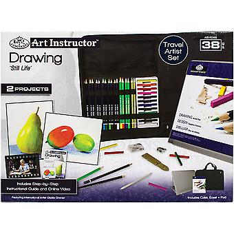 Art Instructor Drawing Travel Set-Large - 38pc RKC403