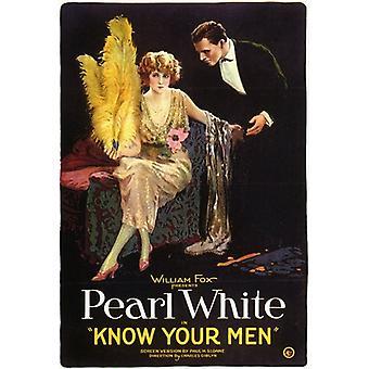 تعرف الخاص بك ملصق الفيلم الرجال (11 × 17)
