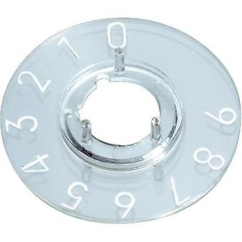 Dial 1-10 270 ° OKW Suitable for 10 mm knobs 1 pc(s)