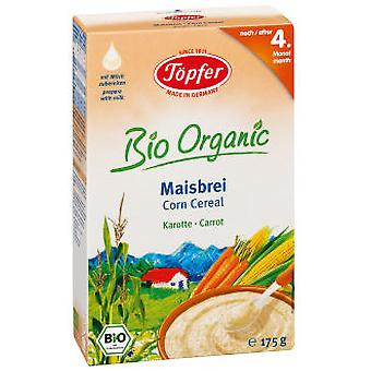 Topfer Corn mush with Carrot Bio 175 Gr (Childhood , Healthy diet , Cereals)