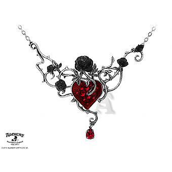 Letto gotico alchimia di sangue-Rose collana