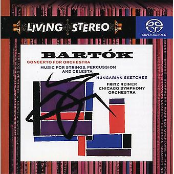 B. Bartok - Bart K: Concerto for Orchestra; Music for Strings, Percussion and Celesta; Hungarian Sketches [SACD] USA import