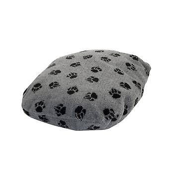 Fleece pote grå Fibre sengen størrelse 3 76x122cm