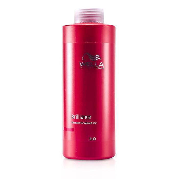 Wella Brilliance Shampoo (für coloriertes Haar) 1000 ml / 33,8 oz