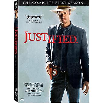 Justified - Justified: The Complete First Season [3 Discs] [DVD] USA import