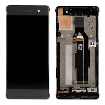 Sony display LCD complete unit with frame for Xperia XA F3111 F3112 black spare parts
